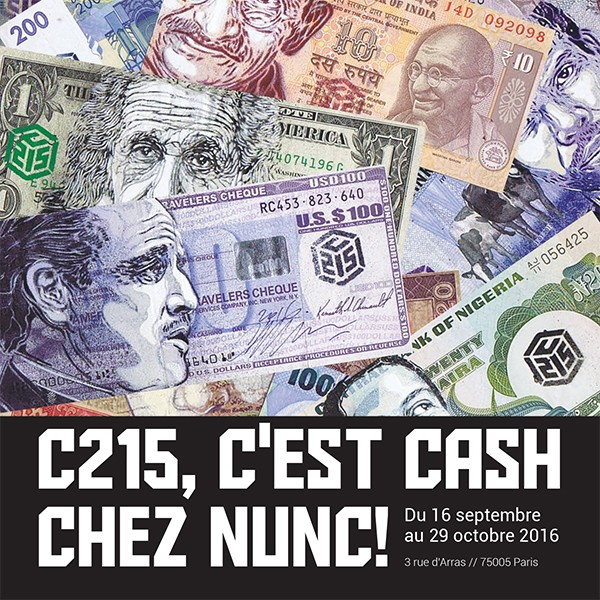 Nunc! Paris - CASH Exposition C215