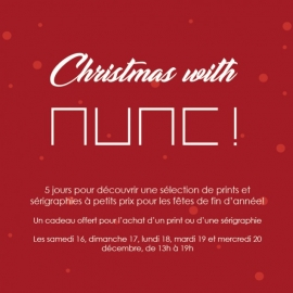 Christmas with NUNC! à NUNC! Paris